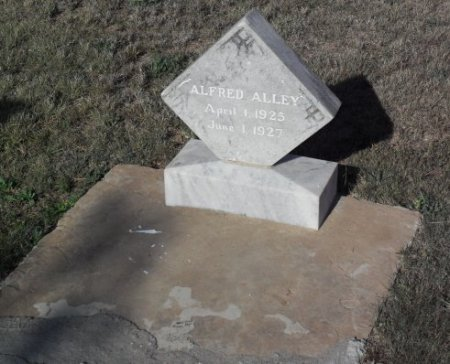 ALLEY, ALFRED - Irion County, Texas | ALFRED ALLEY - Texas Gravestone Photos