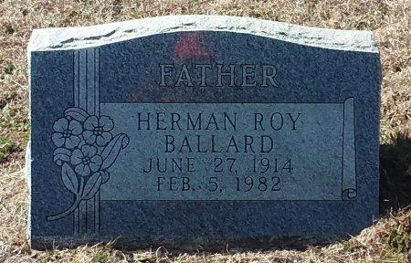 BALLARD, HERMAN ROY - Jack County, Texas | HERMAN ROY BALLARD - Texas Gravestone Photos