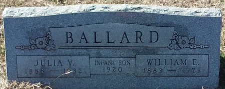 BALLARD, INFANT SON - Jack County, Texas   INFANT SON BALLARD - Texas Gravestone Photos