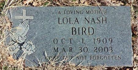 BIRD, LOLA VELMA - Jack County, Texas   LOLA VELMA BIRD - Texas Gravestone Photos