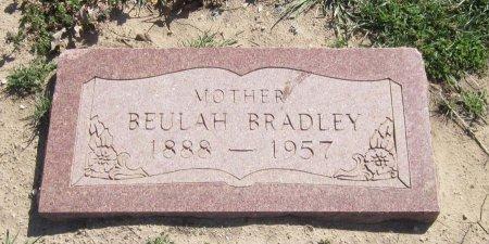 BRADLEY, BEULAH ETHEYL - Jack County, Texas | BEULAH ETHEYL BRADLEY - Texas Gravestone Photos