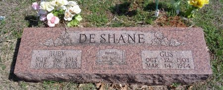 DESHANE, RUBY L - Jack County, Texas | RUBY L DESHANE - Texas Gravestone Photos