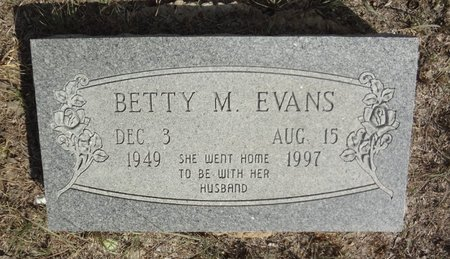 BOOTH EVANS, BETTY MARIE - Jack County, Texas | BETTY MARIE BOOTH EVANS - Texas Gravestone Photos