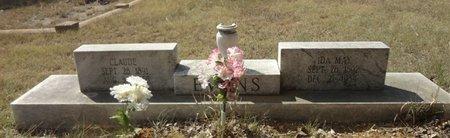 EPPERSON EVANS, IDA MAY - Jack County, Texas   IDA MAY EPPERSON EVANS - Texas Gravestone Photos