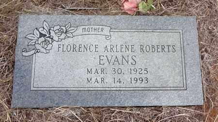 EVANS, FLORENCE ARLENE - Jack County, Texas | FLORENCE ARLENE EVANS - Texas Gravestone Photos