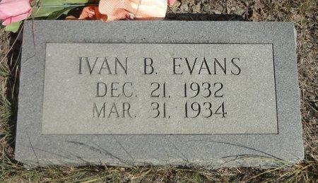 EVANS, IVAN BURNICE - Jack County, Texas | IVAN BURNICE EVANS - Texas Gravestone Photos