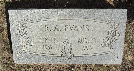 EVANS, RALPH ALTON - Jack County, Texas   RALPH ALTON EVANS - Texas Gravestone Photos