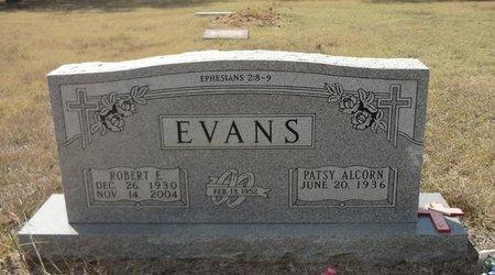 EVANS, ROBERT EDWARD - Jack County, Texas | ROBERT EDWARD EVANS - Texas Gravestone Photos