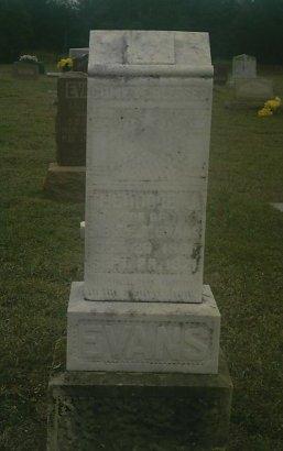 EVANS, THEODORE J - Jack County, Texas | THEODORE J EVANS - Texas Gravestone Photos