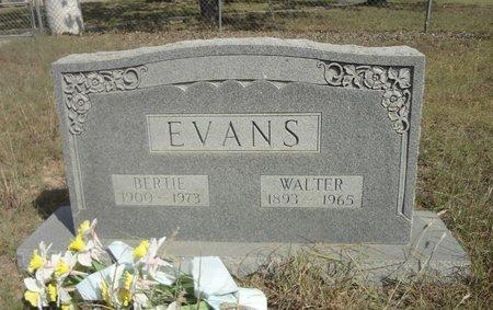 EVANS, WALTER - Jack County, Texas | WALTER EVANS - Texas Gravestone Photos