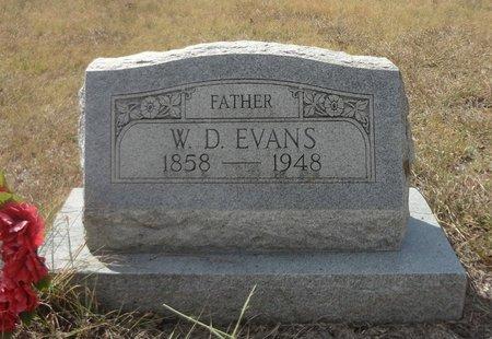 EVANS, WILLIAM DARCUS - Jack County, Texas | WILLIAM DARCUS EVANS - Texas Gravestone Photos