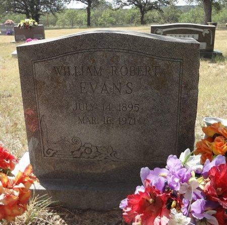 EVANS, WILLIAM ROBERT - Jack County, Texas   WILLIAM ROBERT EVANS - Texas Gravestone Photos