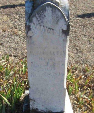 MIDDLETON, NANCY MARGARET - Jack County, Texas   NANCY MARGARET MIDDLETON - Texas Gravestone Photos