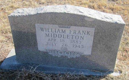 MIDDLETON, WILLIAM FRANKLIN - Jack County, Texas   WILLIAM FRANKLIN MIDDLETON - Texas Gravestone Photos