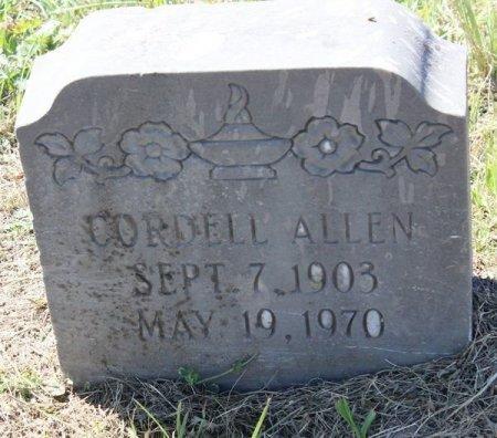 ALLEN, SR., CORDELL - Jackson County, Texas | CORDELL ALLEN, SR. - Texas Gravestone Photos