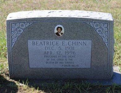 CHINN, BEATRICE EVELYN - Jackson County, Texas | BEATRICE EVELYN CHINN - Texas Gravestone Photos
