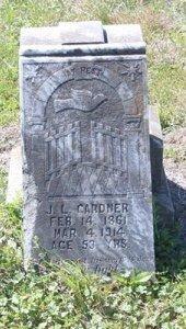 GARDNER, J L - Jackson County, Texas   J L GARDNER - Texas Gravestone Photos