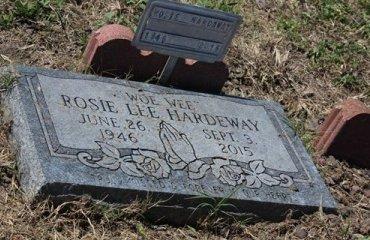 HARDEWAY, ROSIE LEE - Jackson County, Texas   ROSIE LEE HARDEWAY - Texas Gravestone Photos