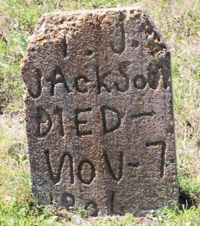 JACKSON, I J - Jackson County, Texas | I J JACKSON - Texas Gravestone Photos