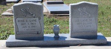 LANE, ROSE ELLA - Jackson County, Texas | ROSE ELLA LANE - Texas Gravestone Photos