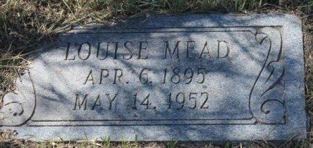 MEAD, LOUISE - Jackson County, Texas | LOUISE MEAD - Texas Gravestone Photos