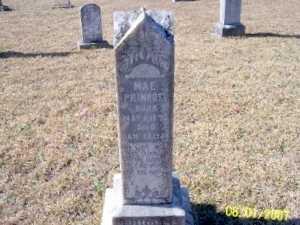 PRIMROSE, MAE - Jasper County, Texas | MAE PRIMROSE - Texas Gravestone Photos