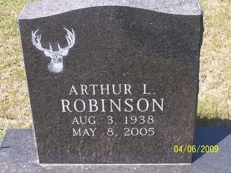 ROBINSON, ARTHUR LYNN - Jasper County, Texas | ARTHUR LYNN ROBINSON - Texas Gravestone Photos