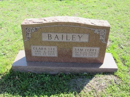 BAILEY, SAM TERRY - Johnson County, Texas | SAM TERRY BAILEY - Texas Gravestone Photos