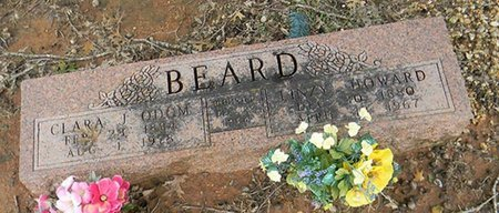 BEARD, LINZY HOWARD - Johnson County, Texas | LINZY HOWARD BEARD - Texas Gravestone Photos