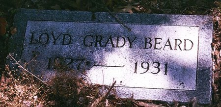 BEARD, LOYD GRADY - Johnson County, Texas | LOYD GRADY BEARD - Texas Gravestone Photos
