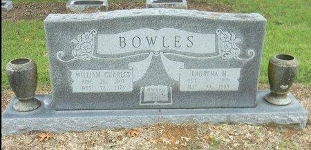 BOWLES, WILLIAM CHARLES - Johnson County, Texas | WILLIAM CHARLES BOWLES - Texas Gravestone Photos