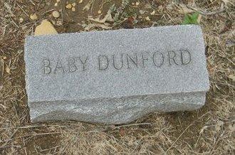 DUNFORD, BABY - Johnson County, Texas   BABY DUNFORD - Texas Gravestone Photos