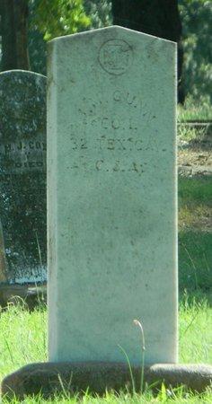 GUNN (VETERAN CSA), J M - Johnson County, Texas | J M GUNN (VETERAN CSA) - Texas Gravestone Photos