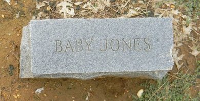 JONES, BABY - Johnson County, Texas | BABY JONES - Texas Gravestone Photos