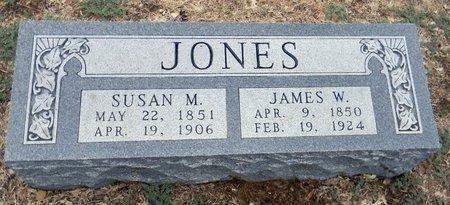 JONES, SUSAN M - Johnson County, Texas | SUSAN M JONES - Texas Gravestone Photos