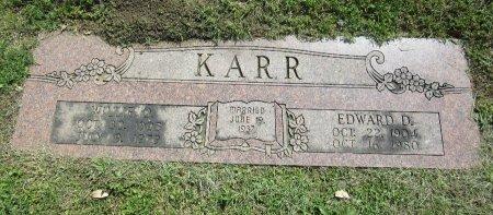 KARR, EDWARD D. - Johnson County, Texas | EDWARD D. KARR - Texas Gravestone Photos