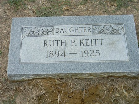 KEITT, RUTH P - Johnson County, Texas   RUTH P KEITT - Texas Gravestone Photos