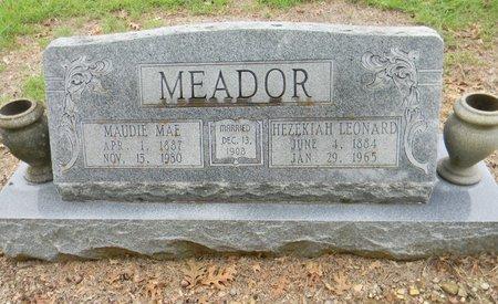 MEADOR, HEZEKIAH LEONARD - Johnson County, Texas | HEZEKIAH LEONARD MEADOR - Texas Gravestone Photos