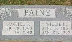 PAINE, RACHEL - Johnson County, Texas | RACHEL PAINE - Texas Gravestone Photos