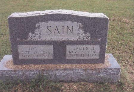 SAIN, JAMES H - Johnson County, Texas   JAMES H SAIN - Texas Gravestone Photos