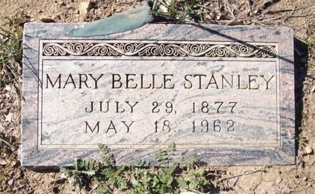 STANLEY, MARY BELLE - Johnson County, Texas | MARY BELLE STANLEY - Texas Gravestone Photos