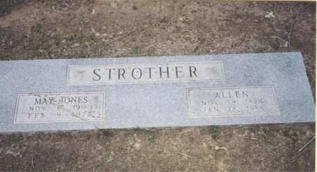 STROTHER, MAY - Johnson County, Texas | MAY STROTHER - Texas Gravestone Photos