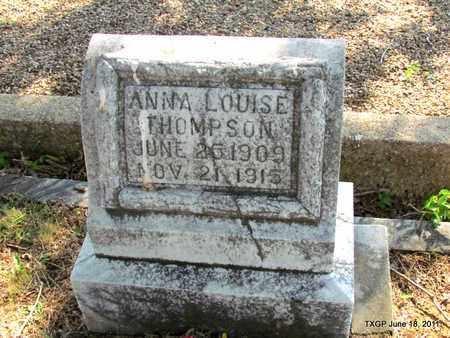 THOMPSON, ANNA LOUISE - Johnson County, Texas | ANNA LOUISE THOMPSON - Texas Gravestone Photos