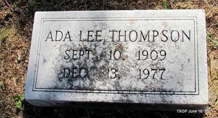 THOMPSON, ADA LEE - Johnson County, Texas | ADA LEE THOMPSON - Texas Gravestone Photos