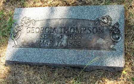 THOMPSON, GEORGIA - Johnson County, Texas | GEORGIA THOMPSON - Texas Gravestone Photos