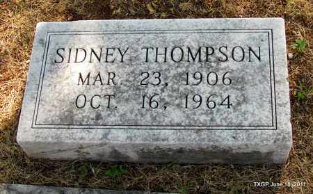 THOMPSON, SIDNEY - Johnson County, Texas | SIDNEY THOMPSON - Texas Gravestone Photos