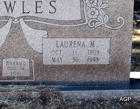 BOWLES, WILLIAM CHARLES (CLOSEUP) - Johnson County, Texas | WILLIAM CHARLES (CLOSEUP) BOWLES - Texas Gravestone Photos