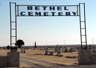 *BETHEL ENTRANCE,  - Jones County, Texas |  *BETHEL ENTRANCE - Texas Gravestone Photos
