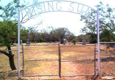 *RISING SUN ENTRANCE,  - Jones County, Texas |  *RISING SUN ENTRANCE - Texas Gravestone Photos