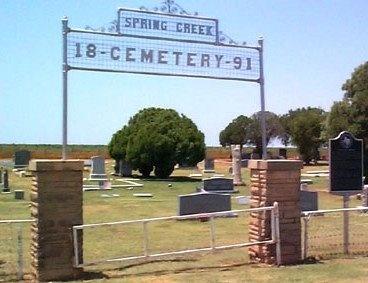 *SPRING CREEK ENTRANCE,  - Jones County, Texas |  *SPRING CREEK ENTRANCE - Texas Gravestone Photos